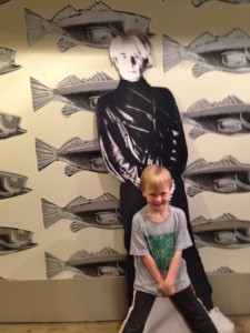 Andy Warhol & another Pittsburgher who sees the world differently