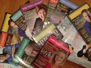 Writer's Digest magazines