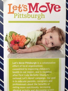 logo for Let's Move Pittsburgh, healthy kids