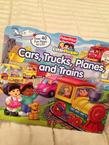 children's bedtime book about cars