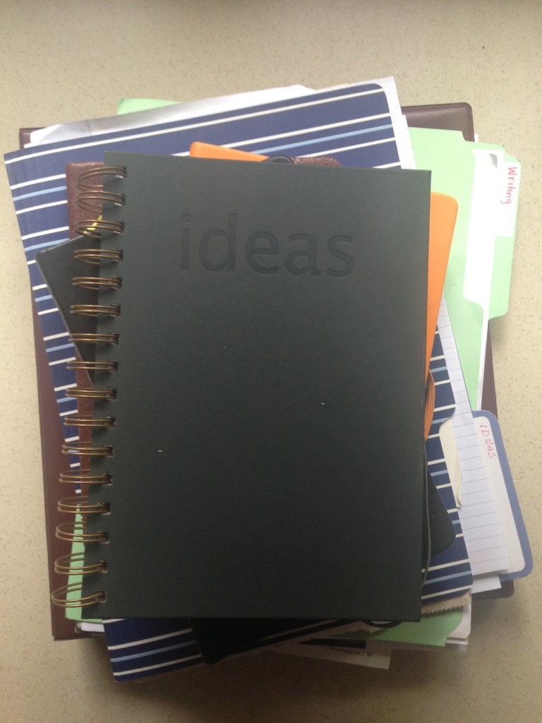 organize ideas for writing