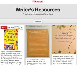 Pinterest writing ideas