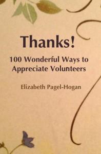 thank volunteers