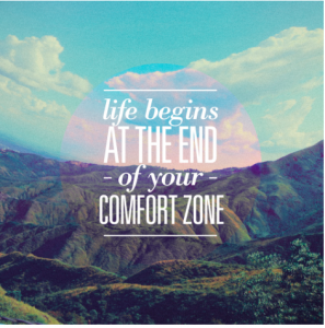 writing out of your comfort zone
