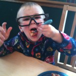 Dylan glasses eating, picky eaters