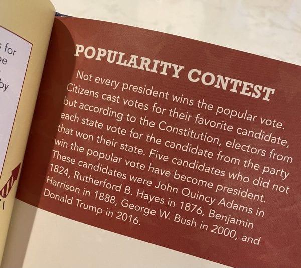 Popular vote for President