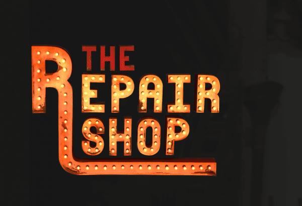 the repair shop show logo